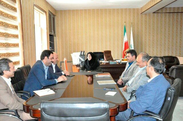 دیدار فرماندار اردکان و مدیرکل حفاظت محیطزیست استان